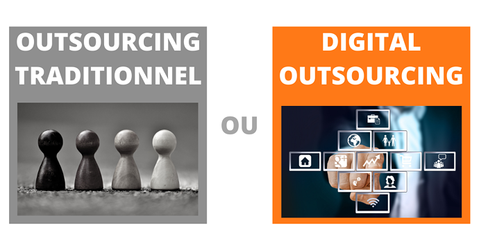 Digital outsourcing