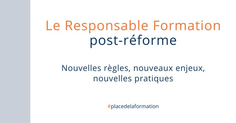 Le Responsable Formation post réforme